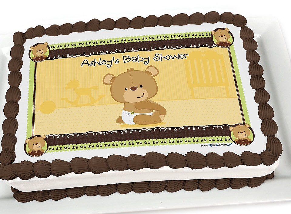 Teddy Bear Baby Shower Cake Ideas