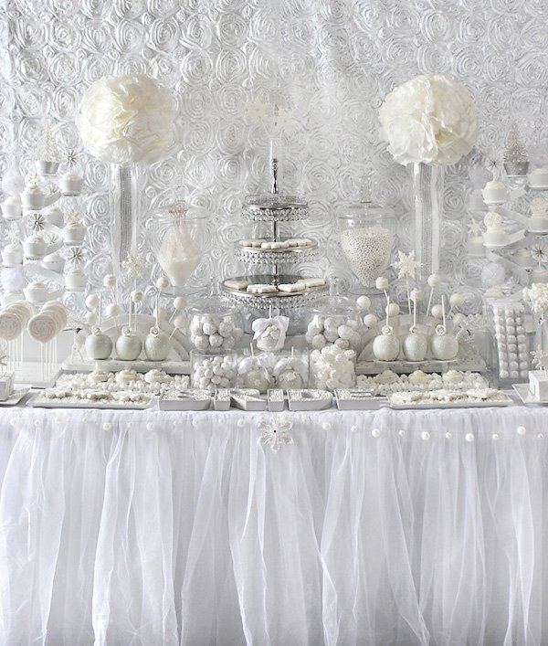 All white baby shower ideas baby ideas for All white wedding theme pictures