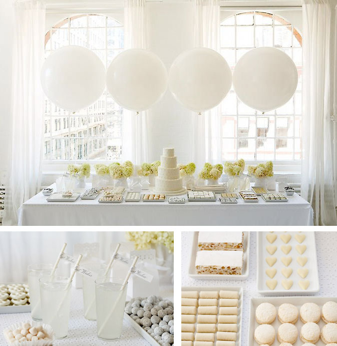 ALL WHITE BABY SHOWER-decorations3
