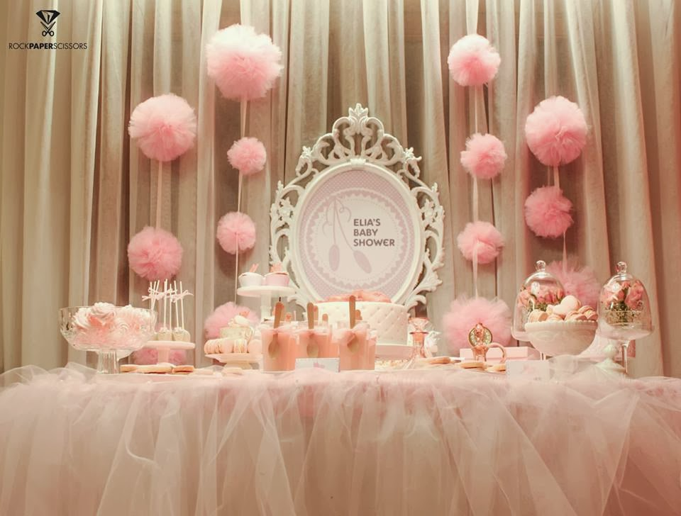 Ballerina baby shower ideas baby ideas for Baby girl shower decoration