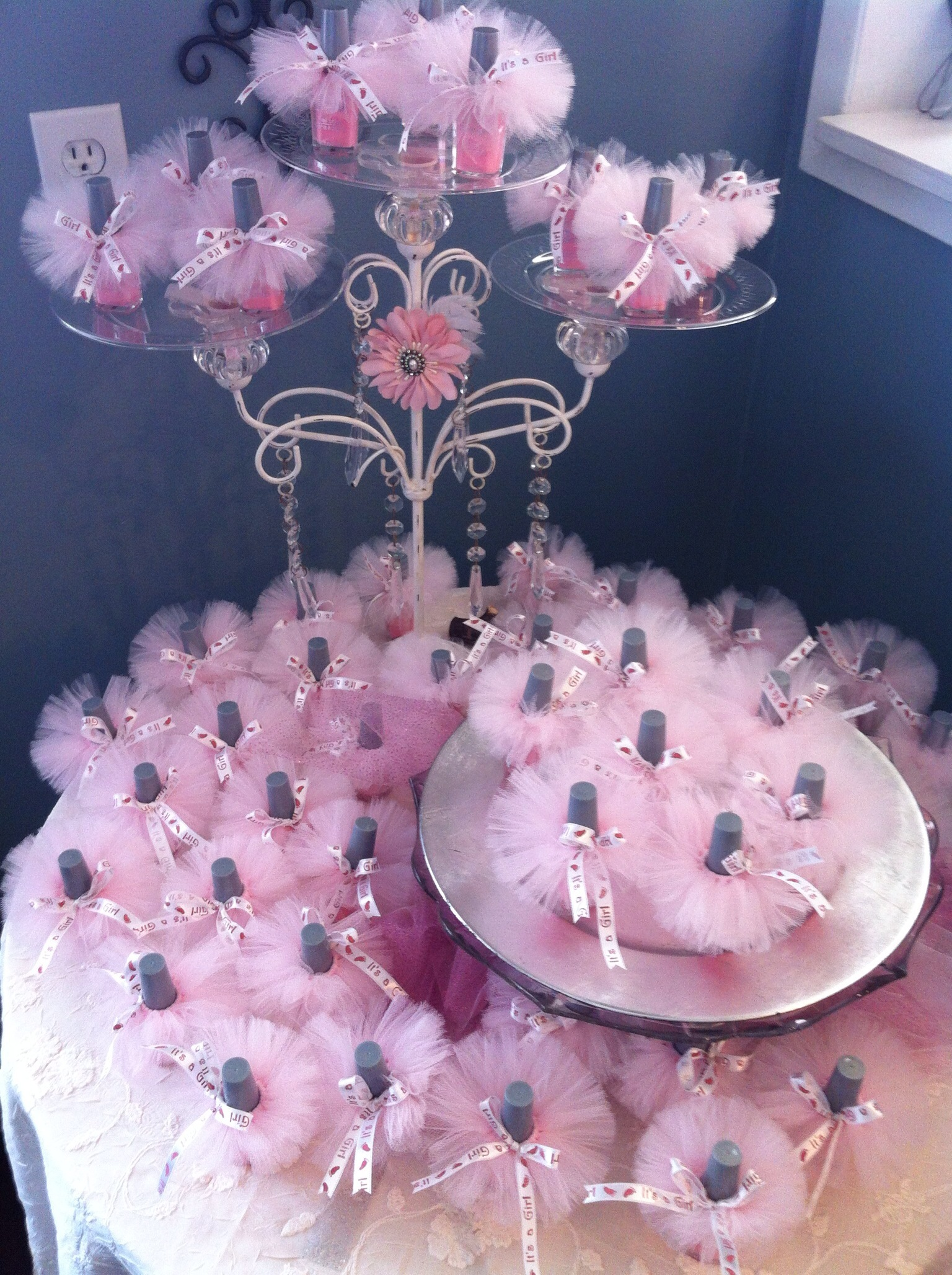 Ballerina Baby Shower Favors