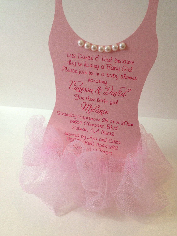 Ballerina Invitation Ideas as awesome invitation sample