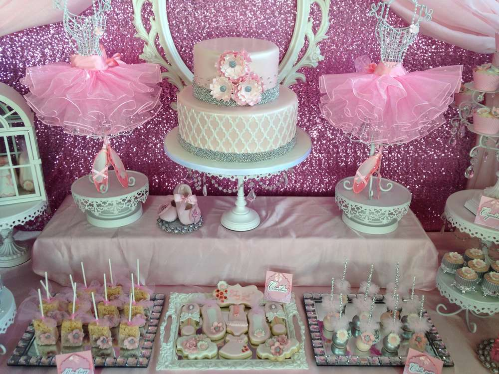 Ballerina-Baby-Shower Babies Shower Ideas
