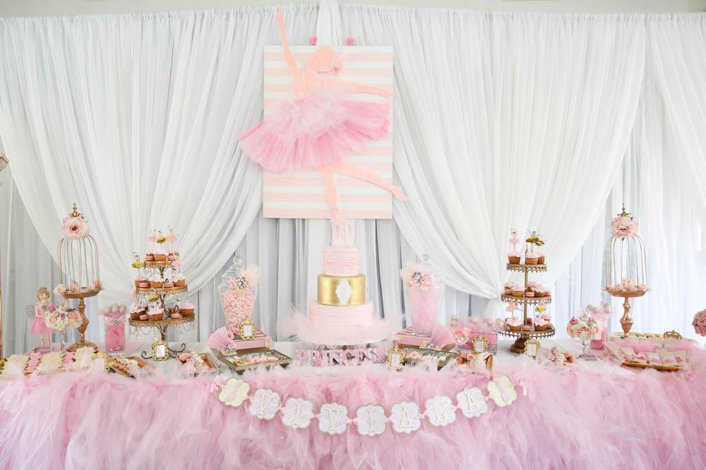 Ballerina Baby Shower Ideas - Baby Ideas