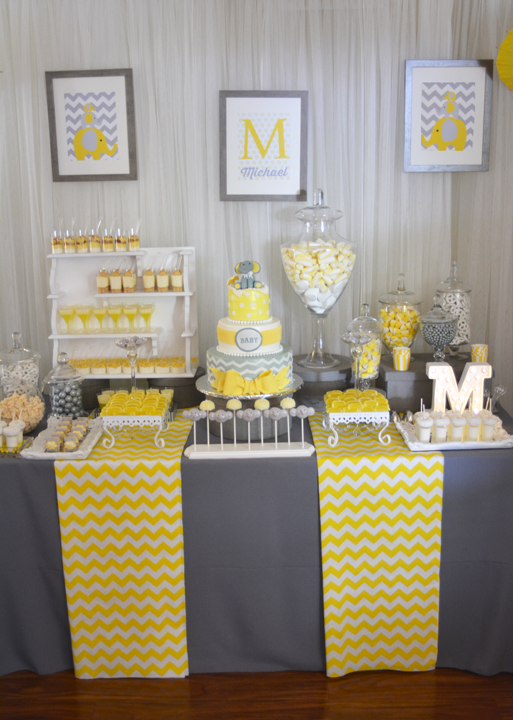 Elephant baby shower ideas baby ideas for Baby shower modern decoration