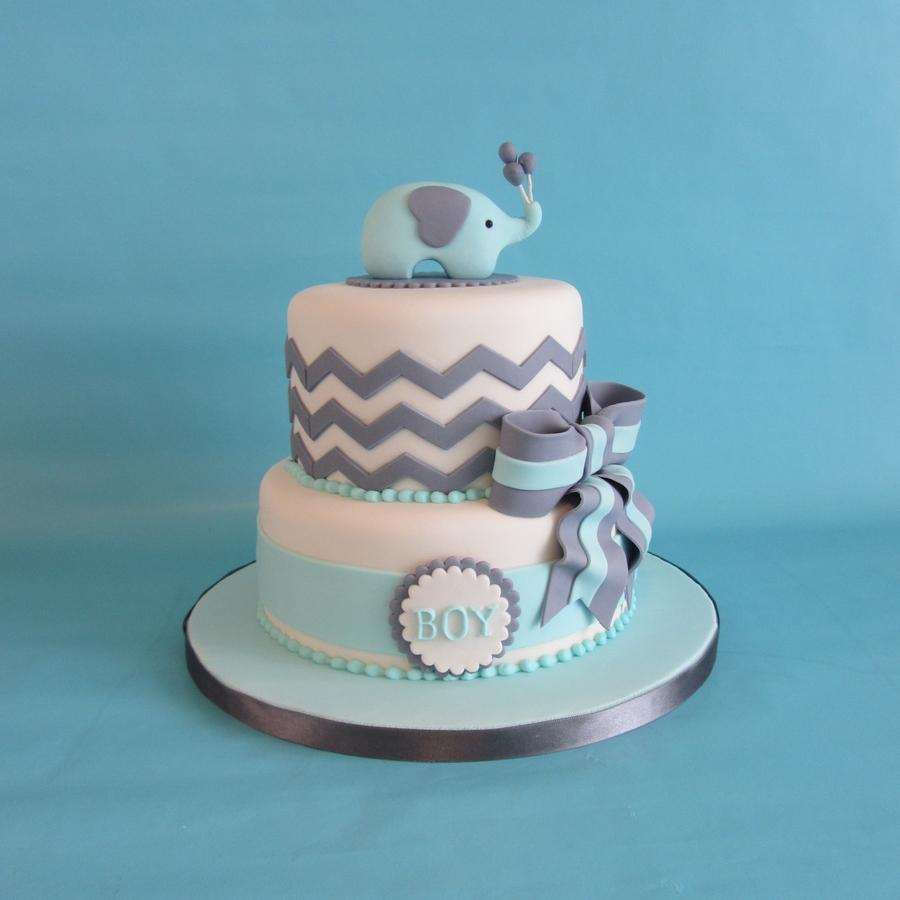 elephant-baby-shower-cake