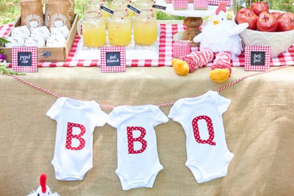 Ducky baby shower ideas baby ideas for Baby shower bbq decoration ideas