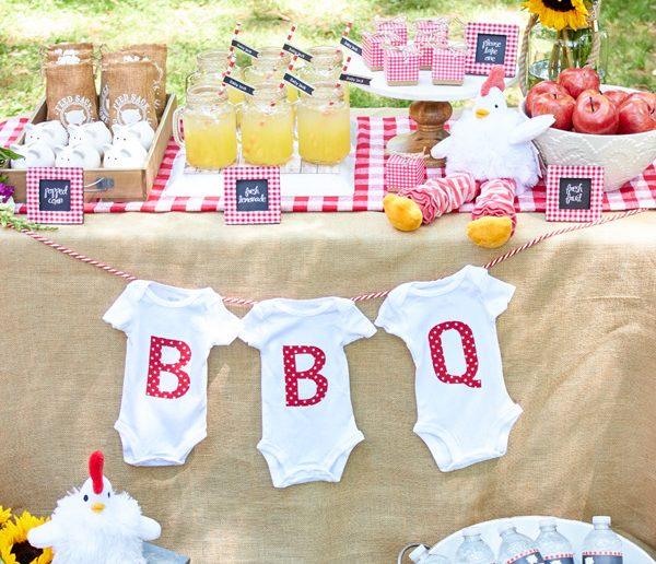 BBQ Baby Shower Ideas