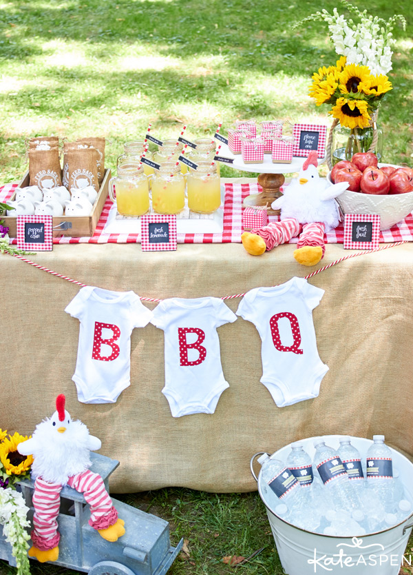 BBQ Baby Shower Ideas