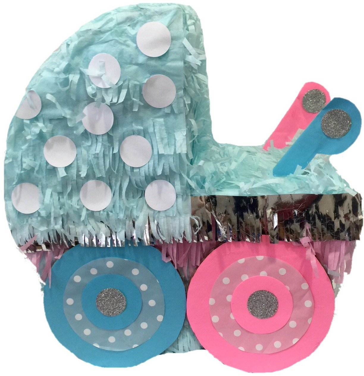 Baby Carriage Pull Strings Pinata