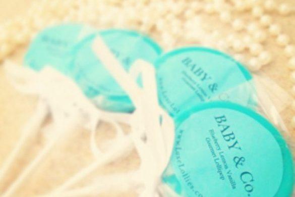 Baby Shower Lollipops Ideas