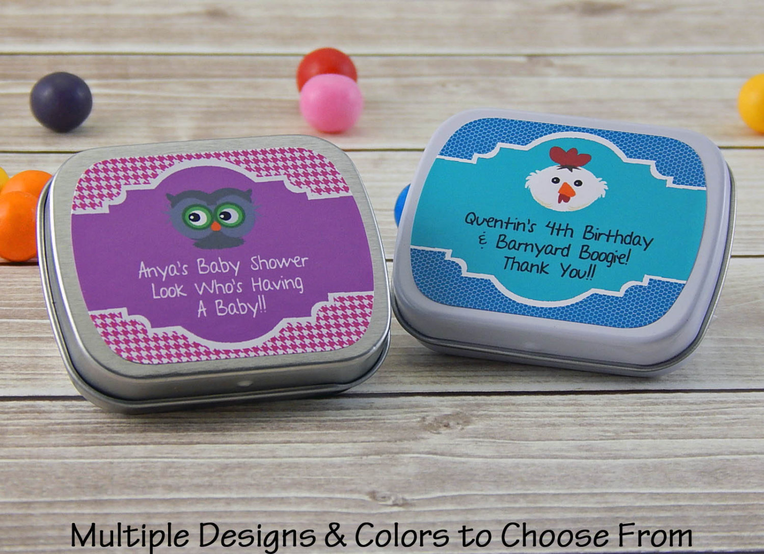 Baby Shower Mints