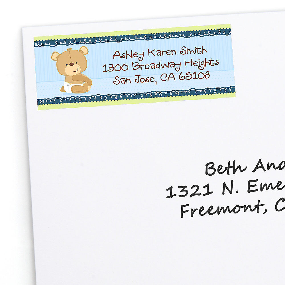 Boy-Teddy-Bear-Baby-Shower-Address-Labels