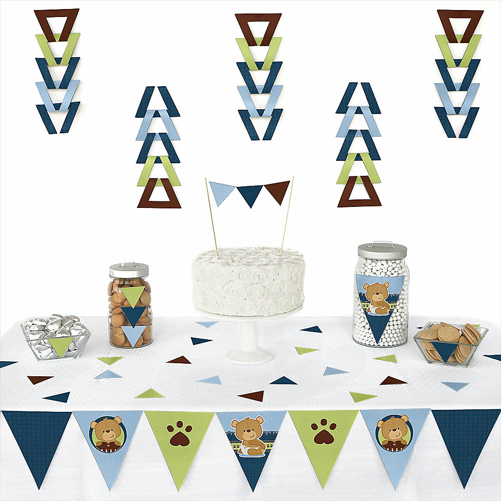 Boy-Teddy-Bear-Party-Triangle-Decoration-Kits
