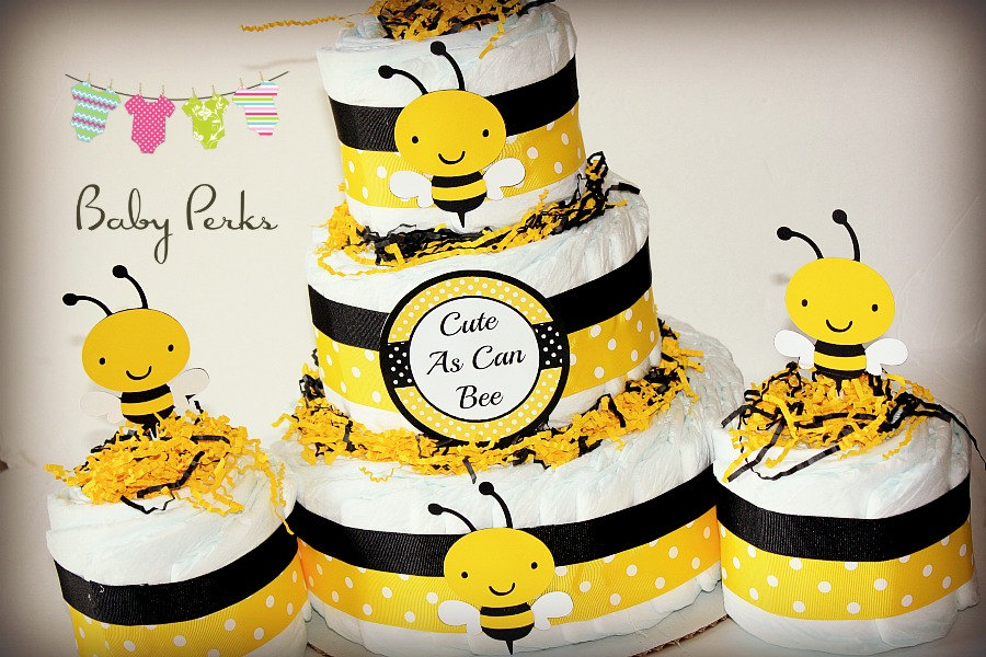 Good Bumble Bee Diaper Cake