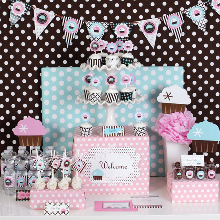 Cupcake Baby Shower Ideas