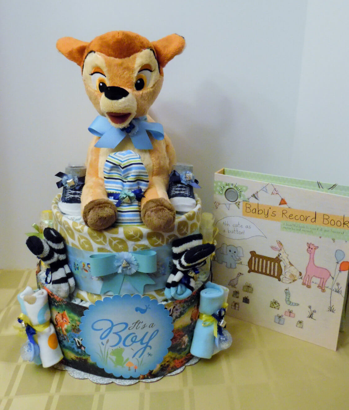 DISNEY THEMED BAMBI Diaper Cake