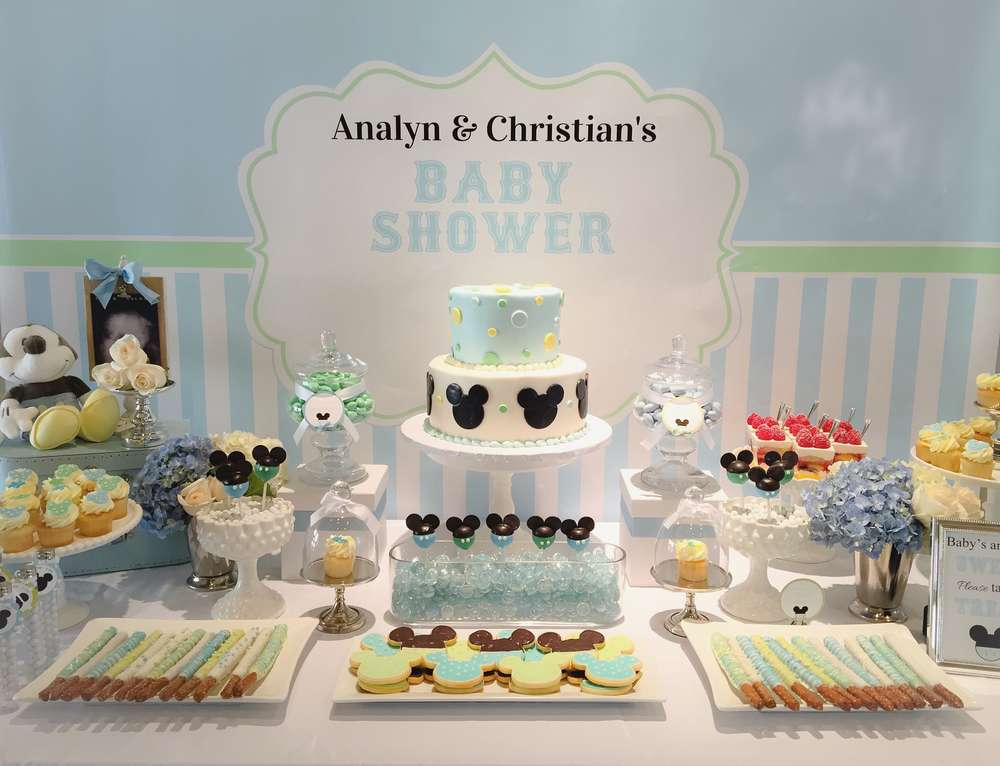 Great Disney Baby Shower Ideas