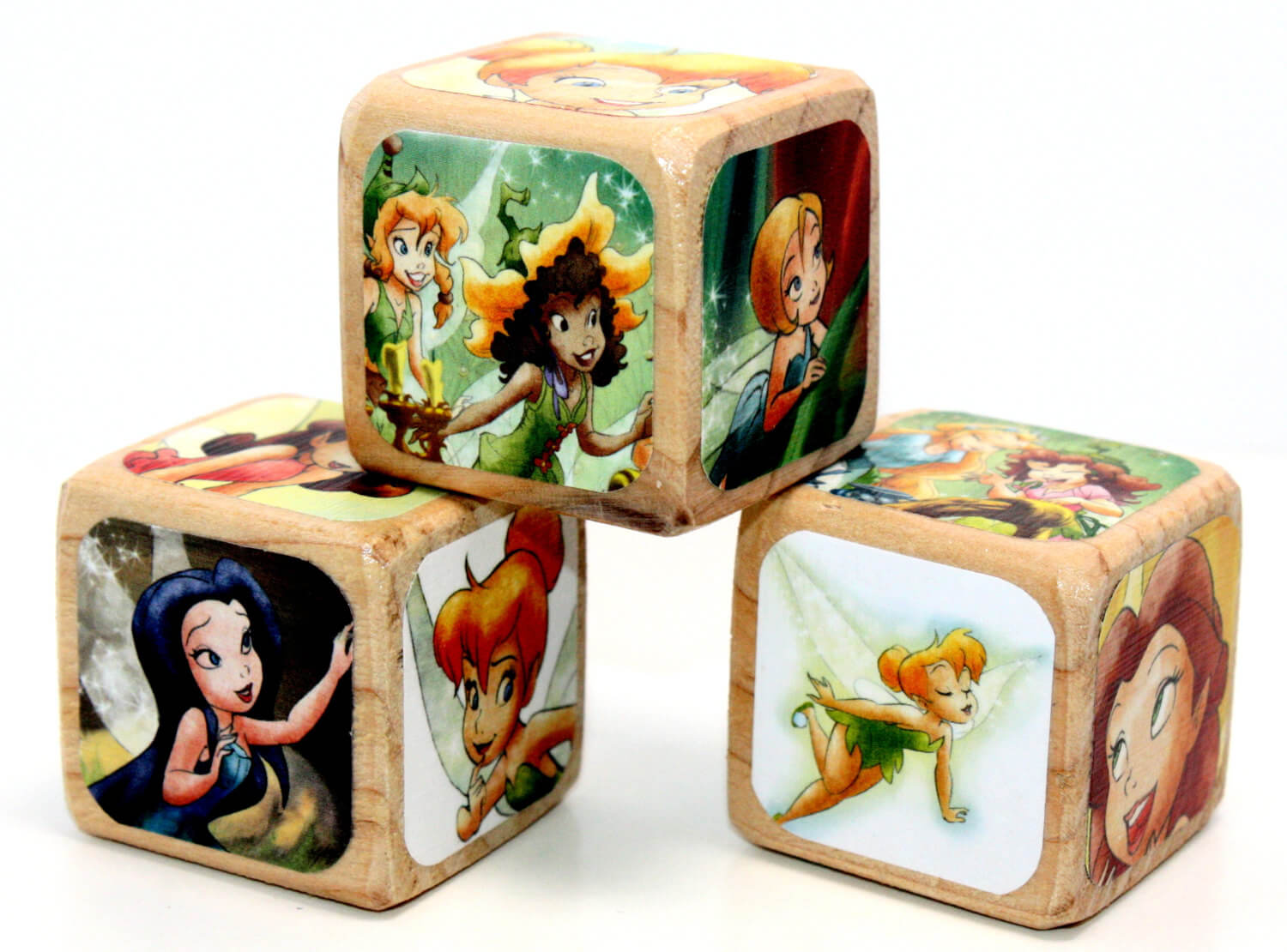 Disney Fairies - Wooden Blocks - Baby Blocks