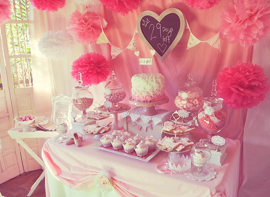 The best baby girl shower ideas pictures tips for Baby shower decoration themes for girls