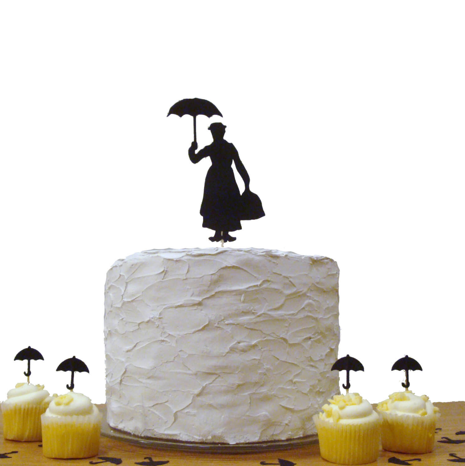 Mary Poppins Baby Shower Cake Topper