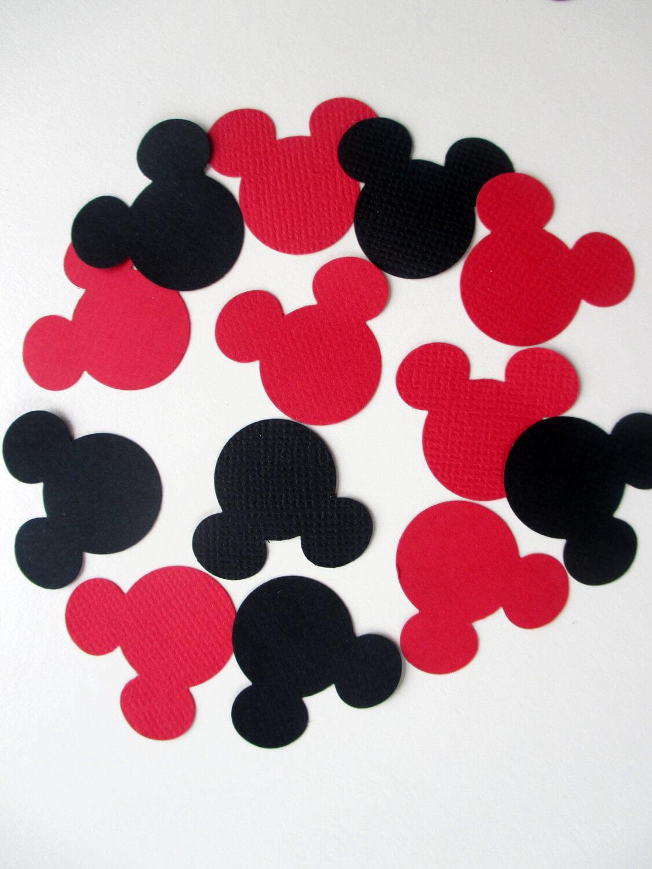 Mickey Mouse confetti