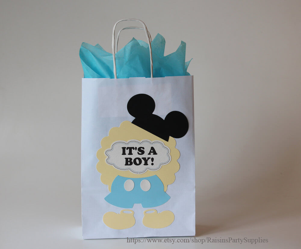 Mickey favor bags