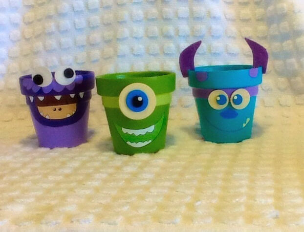 Monster Inc. Inspired Party Favor