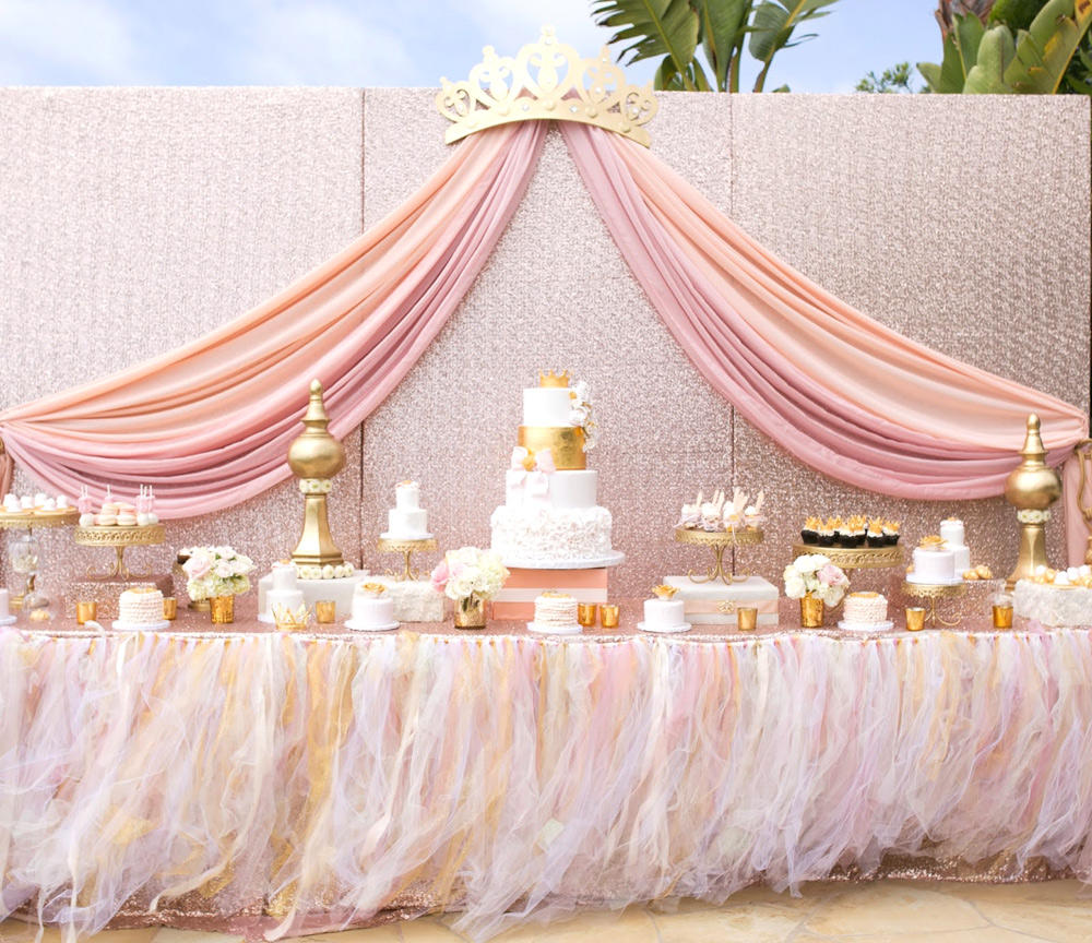 Princess baby shower ideas baby ideas for 15 years party decoration