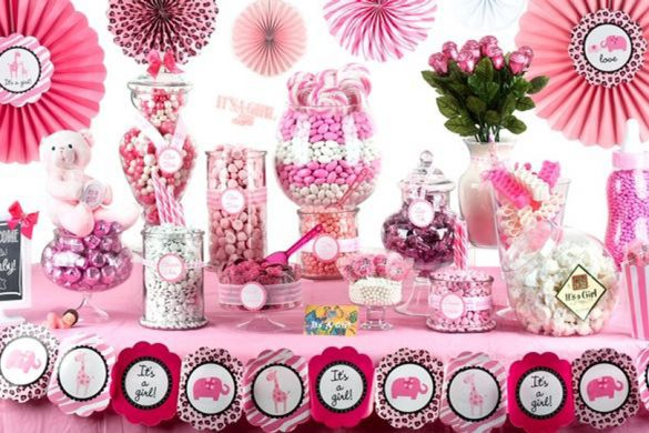 Sweet Candy Baby Shower Ideas