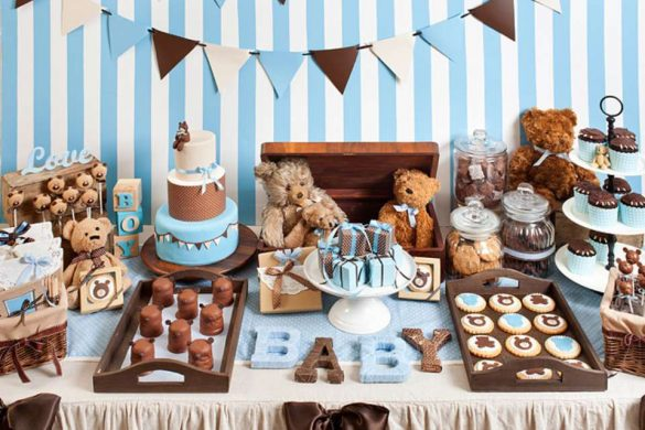 The most popular baby shower theme ideas - Popular boy baby shower themes ...