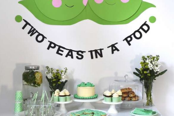 Two Peas in a Pod Baby Shower Ideas