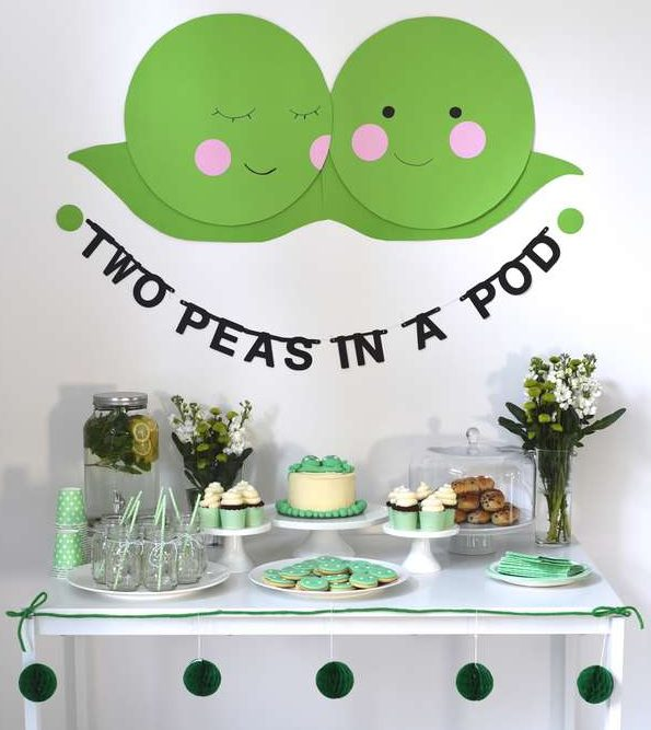 Luxury Lime Green Baby Shower Decorations