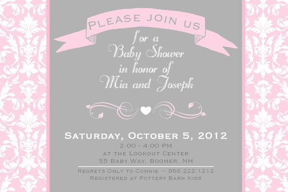 20 Great Baby Shower Wording Examples For Your Invitations