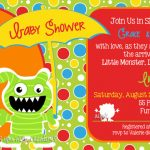 monster invitation