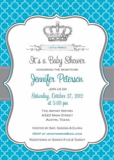 prince invitation