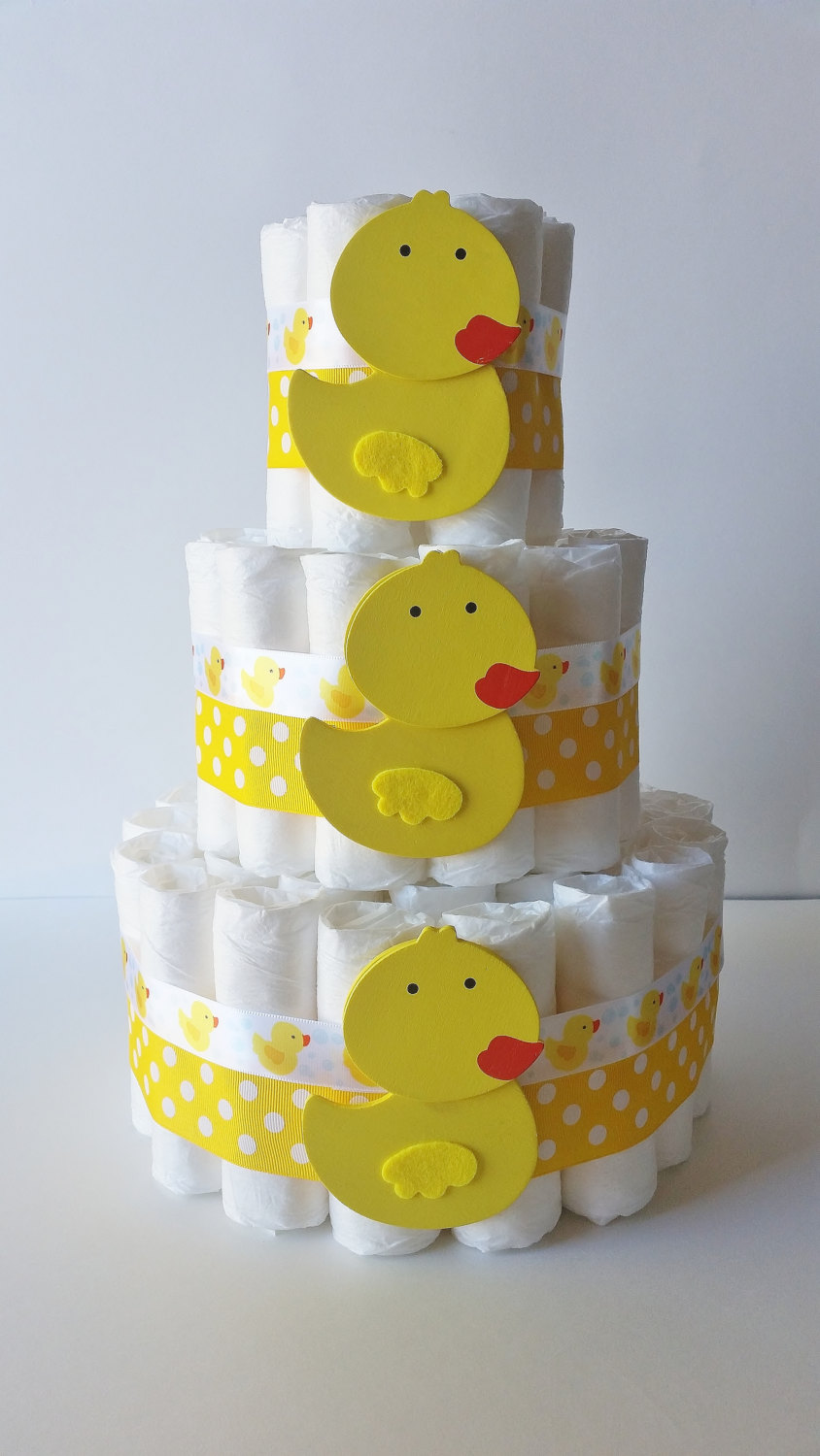 Duck Diaper Cake Ideas