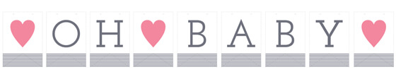 """Oh Baby"" Banner"