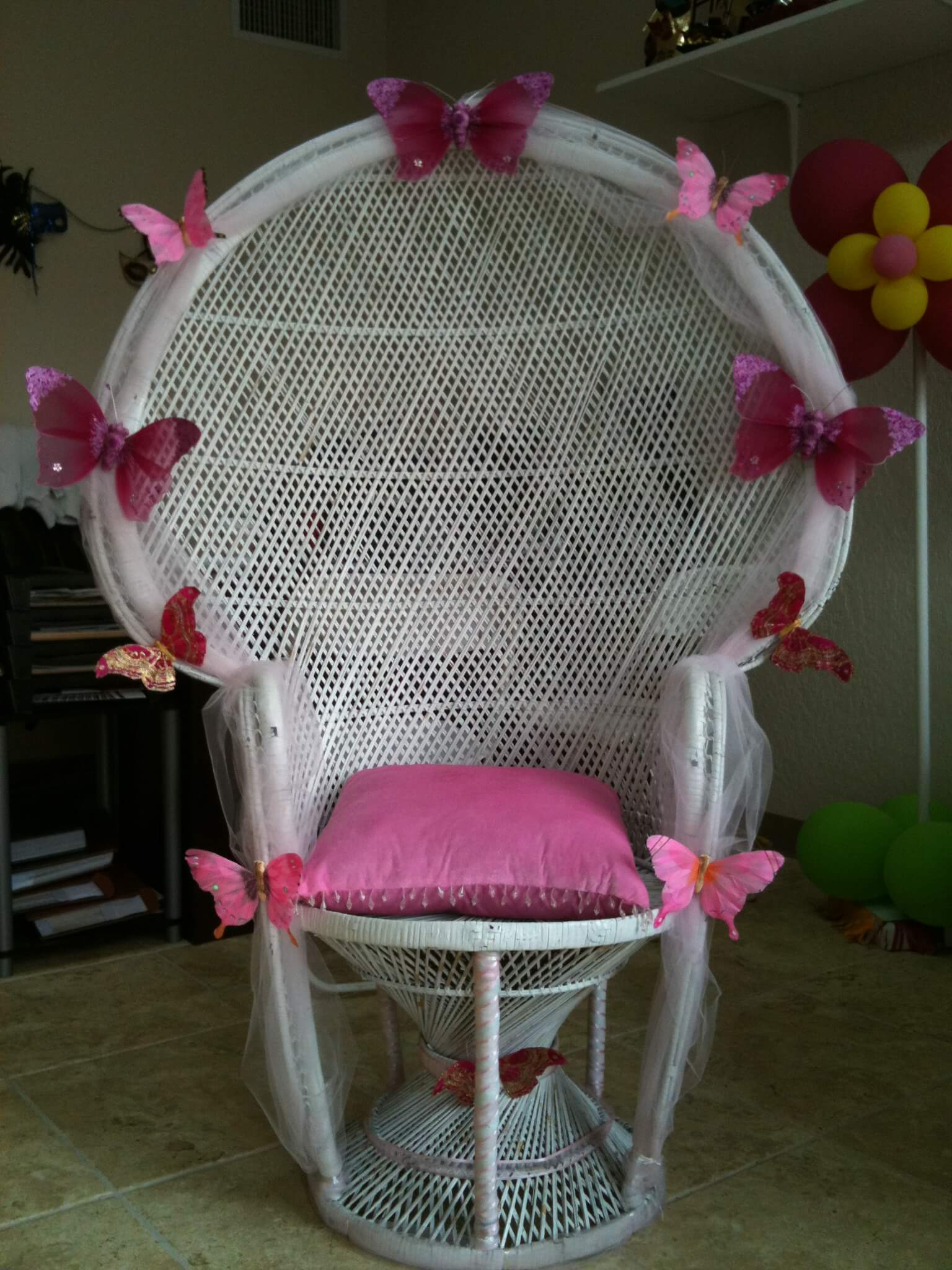 Baby Shower Chair Ideas