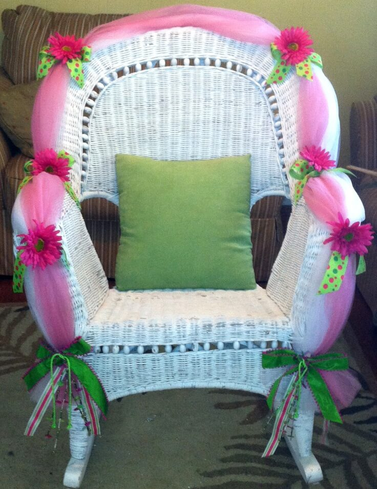 Choosing A Baby Shower Chair Ideas