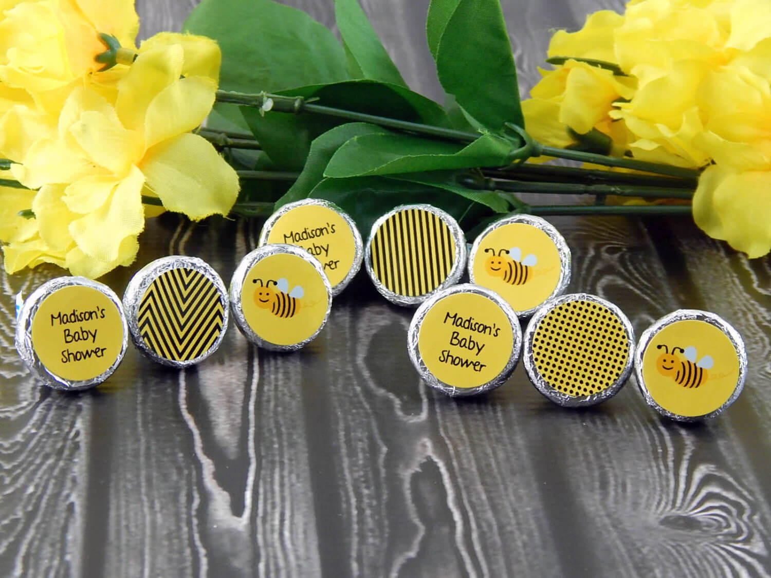 Bumble Bee Baby Shower Favors - Bumble Bee Party Favors