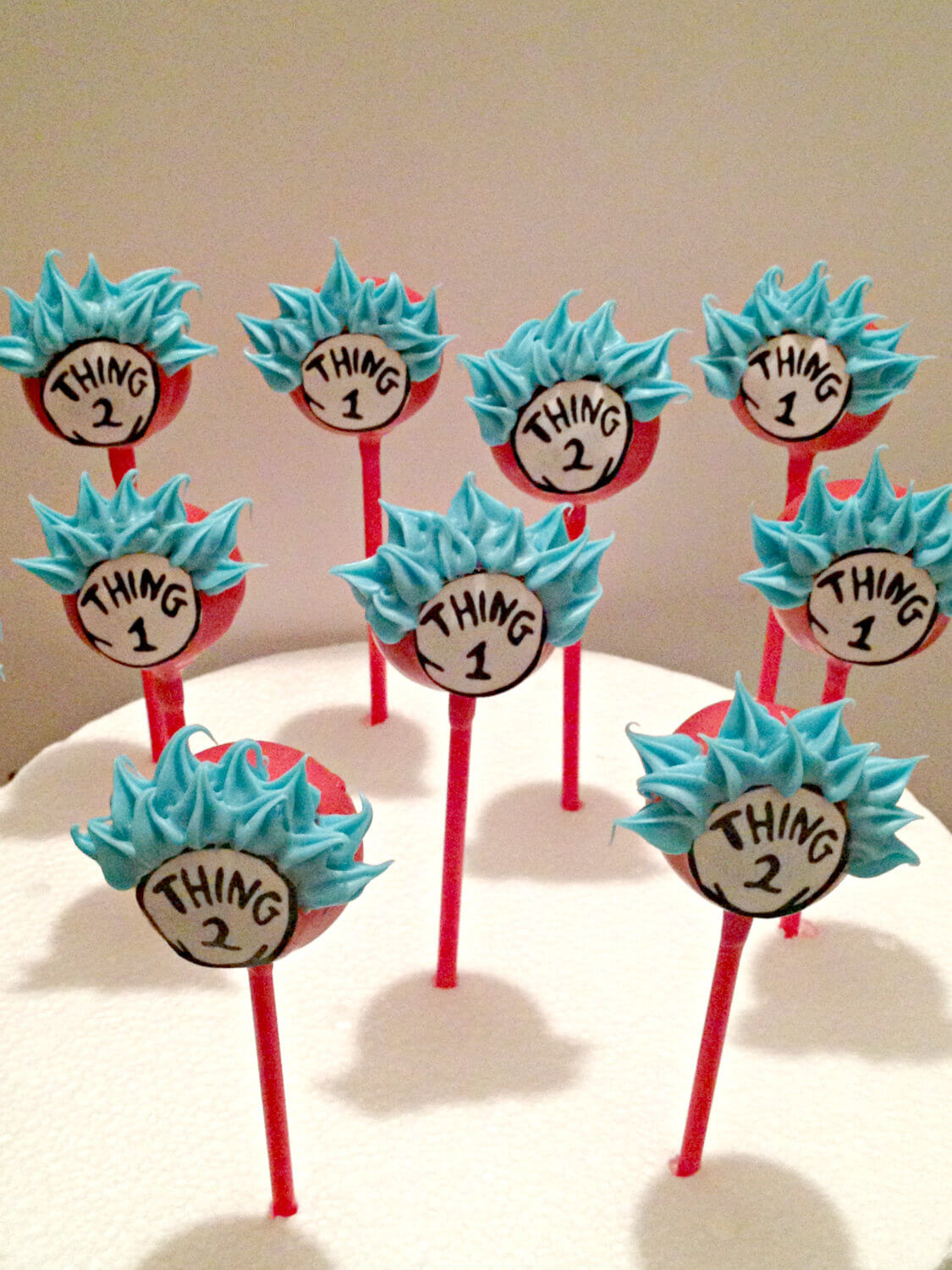 Dr Seuss Party Dr Seuss Cake Pops