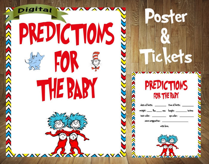 Dr. Seuss Baby Predictions