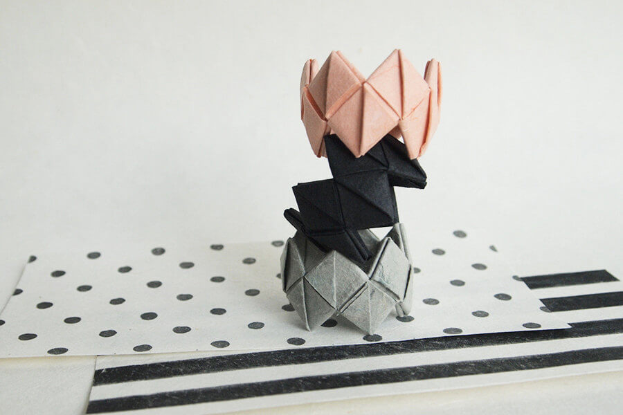 Origami Napkin Rings Party decor