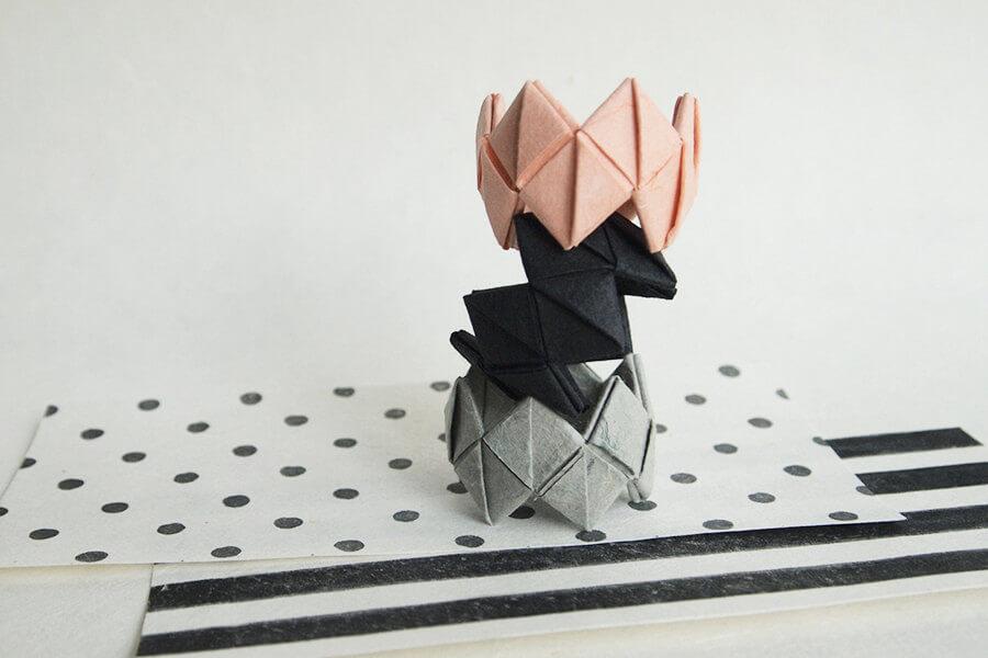 Origami Napkin Rings Party decor