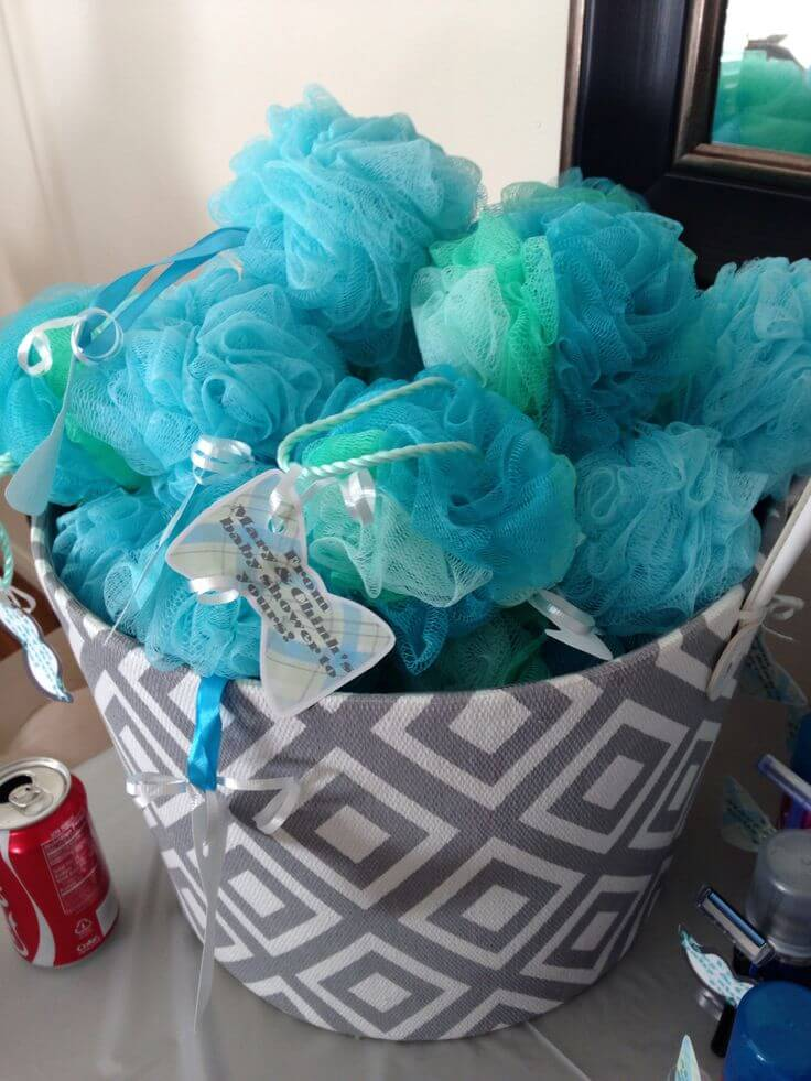 DIY Baby Boy Shower Favor Ideas