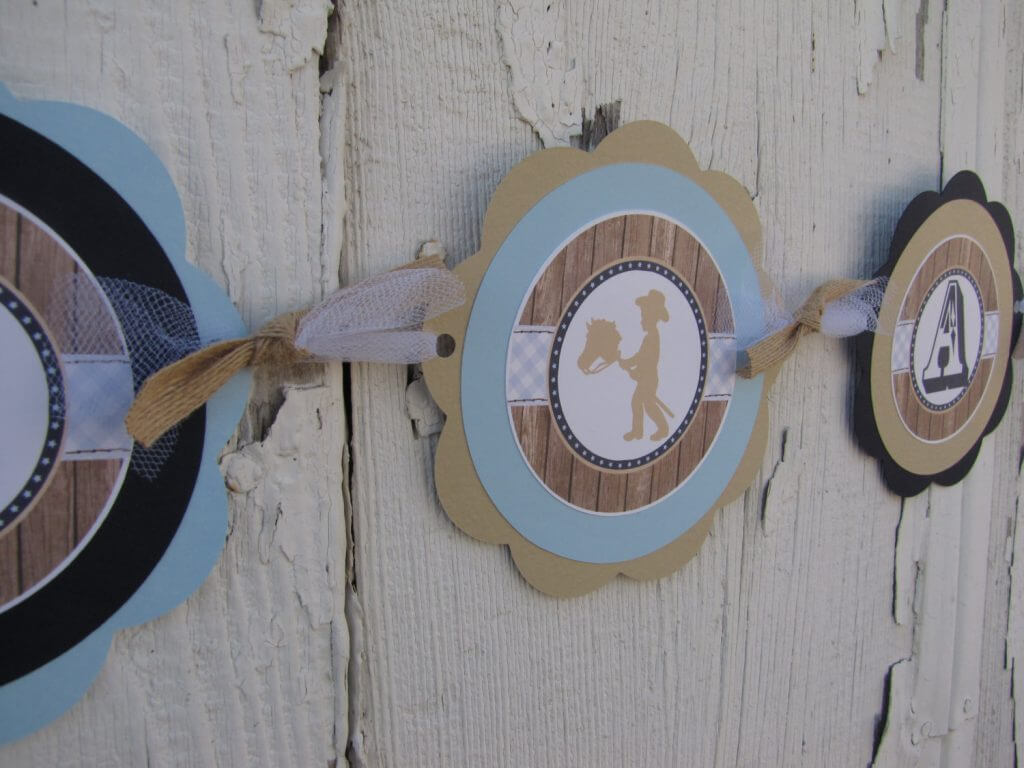 Cowboy Baby Shower Decorations
