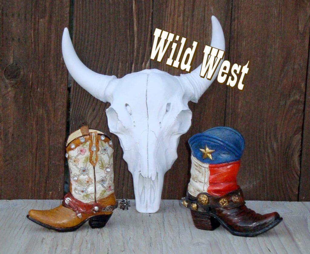 Cowgirl Boots Cake Topper