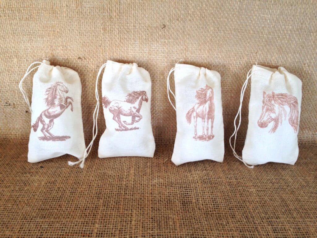 Horse Favor Bag