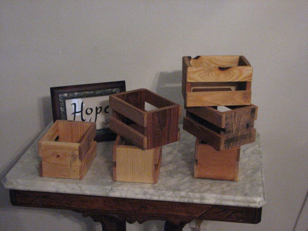 Small Rustic Crate 20 Pack